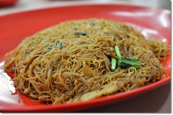 San Low Fried Vermicelli Noodles @ Ah Kow