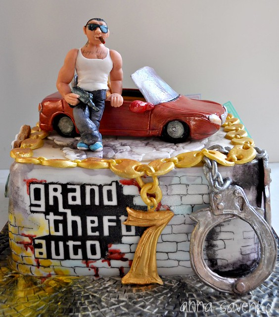 Grand Theft Auto Cake Ideas