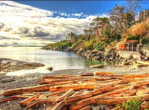 ocean vacation canada beach landscape bay bc pacific vancouverisland hdr victoriabc zedzap coth5