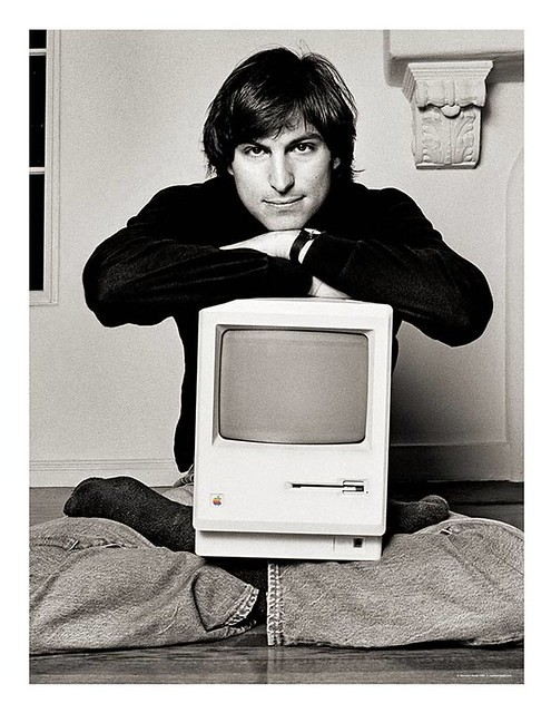 Steve Jobs Lithograph by Norman Seeff