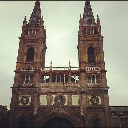 Gothic. (Drive by shot) #vienna #iphoneography #wien #igersvienna #architecture