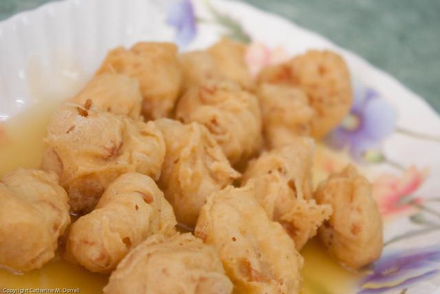 Vegetarian Lemon Soya Chicken
