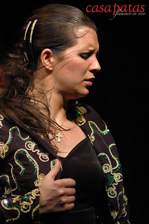 Paloma Fantova en Casa Patas.  Foto: Martín Guerrero