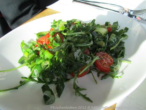 Tomaten-Ruccola-Salat