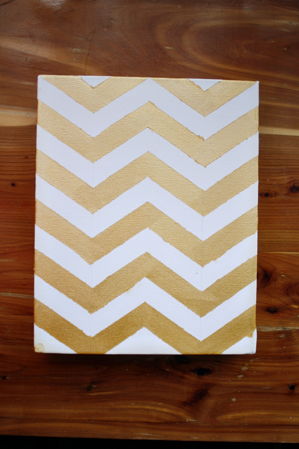 Talia christine diy chevron wall painting for Chevron template for painting