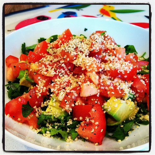 Storm's #tabouli for lunch, day 1 #thegardendiet . by dominique ap