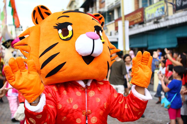 Penang Dragon Chinese New Year Miao Hui 2012
