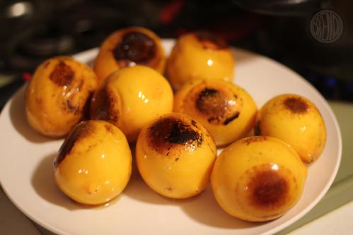 sizzled lemons