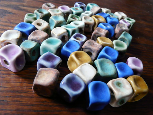 Sugar Cubes - Porcelain Beads