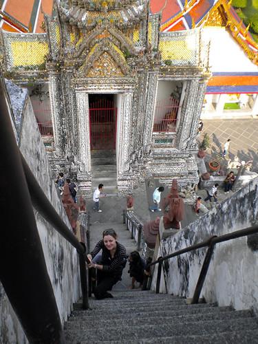 Escaleras Wat Aun