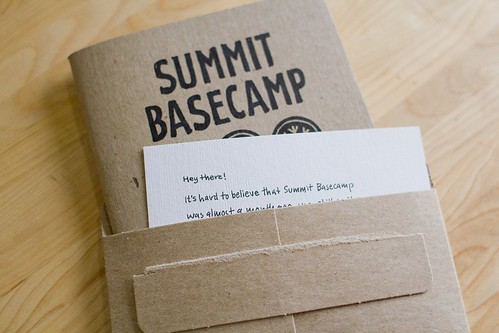 Summit Basecamp: Sketchnote Booklet, Note & Envelope
