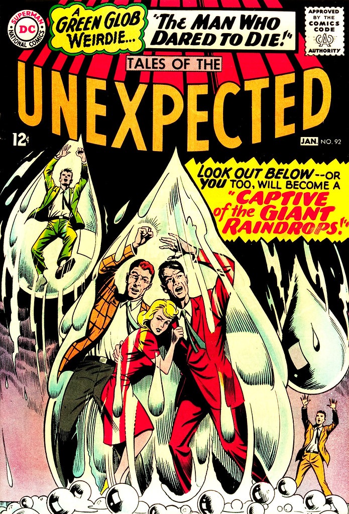 Tales of the Unexpected #92 (DC, 1965) Howard Purcel cover