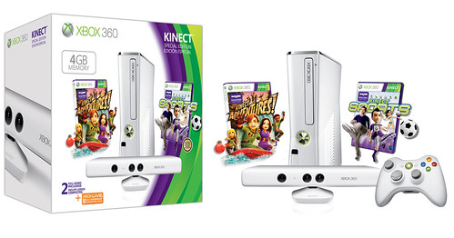 Microsoft announces Xbox 360 Special Edition 4GB Kinect Family Bundle