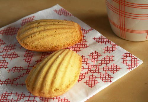 madeleines for afternoon tea