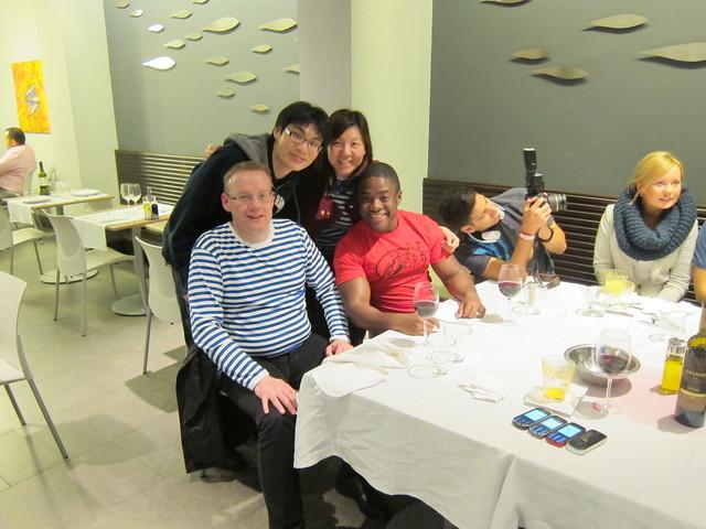 Top (L-R): Me, Vivian Chan | Bottom (L-R): Loek, Trent