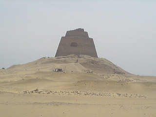 The pyramid of Meidum