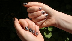 artificial nails(0.0), leg(0.0), hand(1.0), finger(1.0), limb(1.0), nail(1.0), manicure(1.0), cosmetics(1.0),