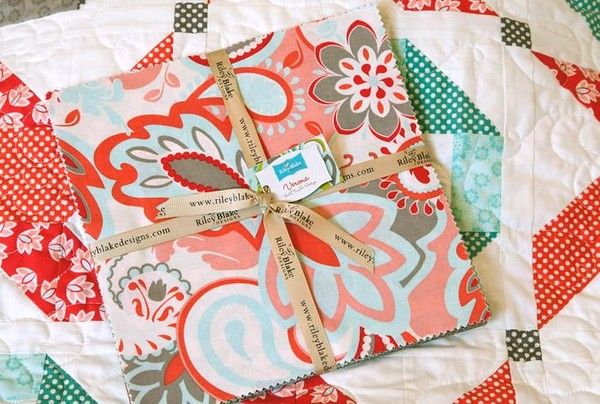 Verona Charm Packs for Friday's Fabric Giveaway!!