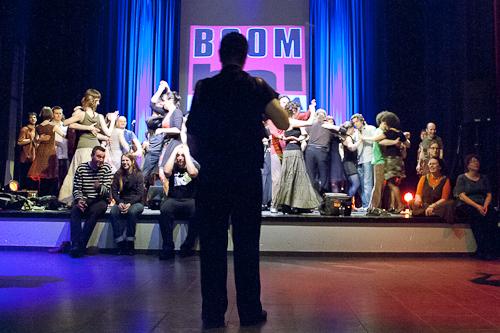 Boombal Bornem met Philippe Plard en Parasol