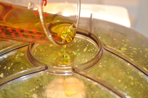 broccoli pesto/olive oil