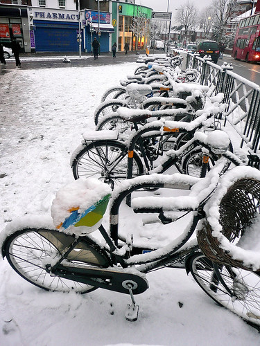 Willesden Green - Snow Bikes