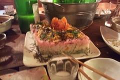 ひな祭りケーキつかちらし寿司