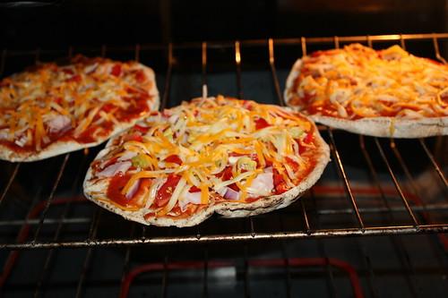 Pita Pizzas