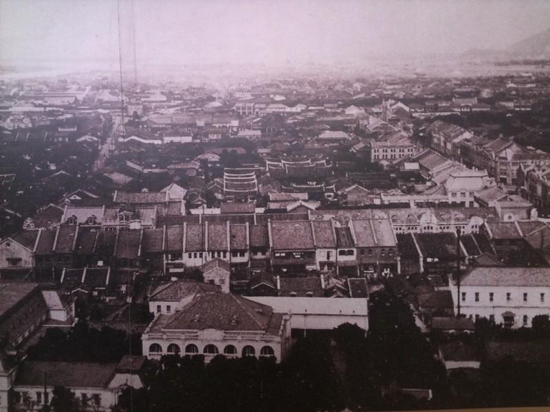 台北市 1918 由總督府未完工建物 往北北西方向照