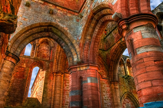 Arches of Lanercost Priory, Cumbria