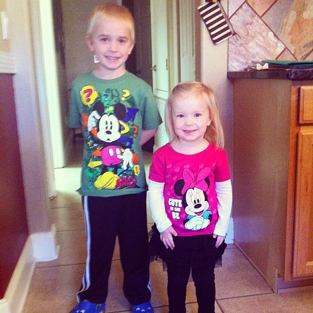 Ready for a day with Mickey!