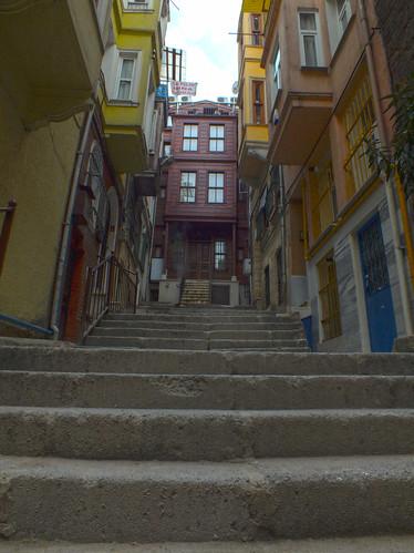 Cihangir lépcső