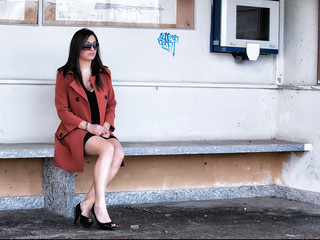 The girl with the orange coat - 04