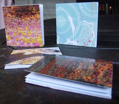 recycled little notebooks