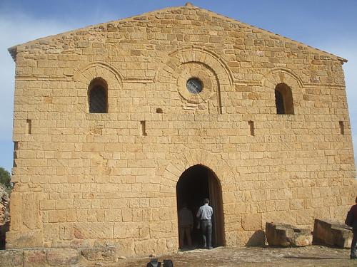La chiesa di San Biagio - già tempio di Demetra e Kore - di Agrigento - Facciata esterna by Calogero Mira