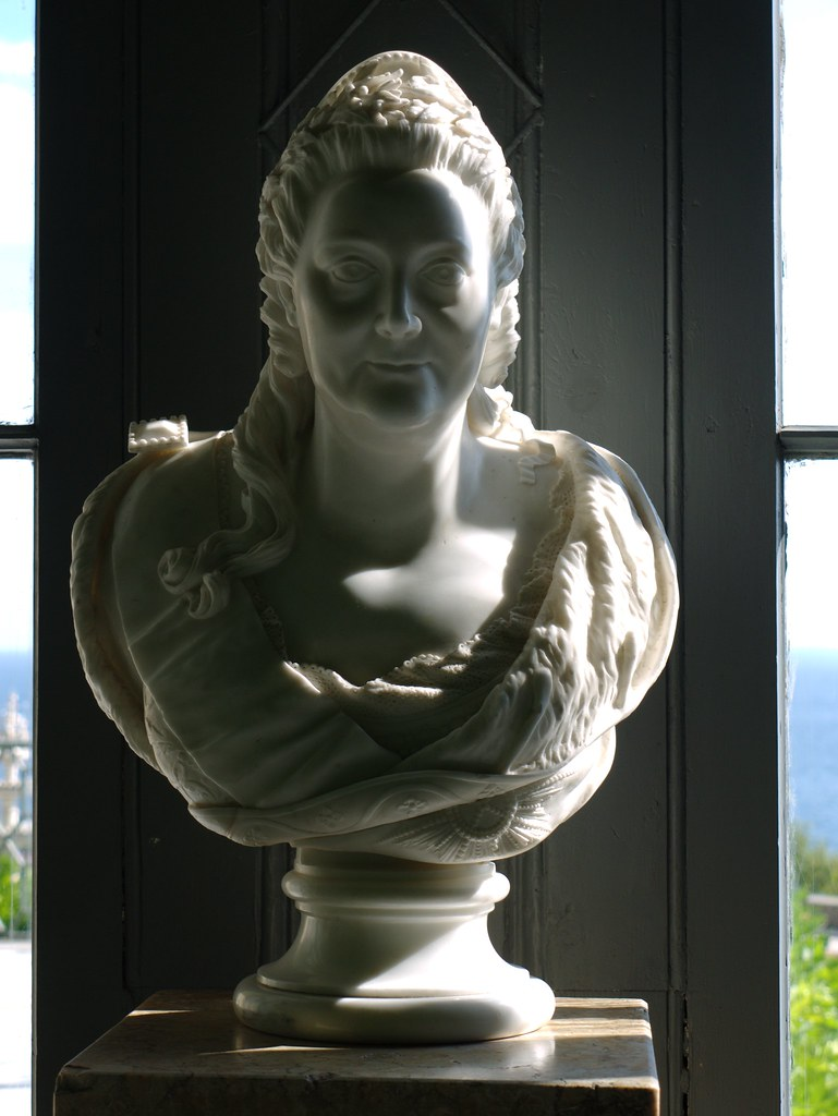 Marble bust of Catherine II