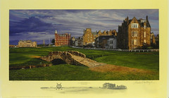 The Swilcan Bridge The 18th Hole of the Old Course St. Andrews Links