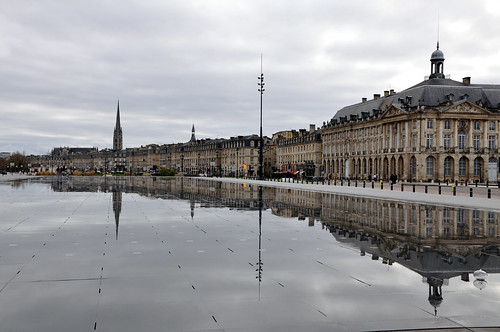 Miroir d'eau - Bordeaux - Place de la Borse - France