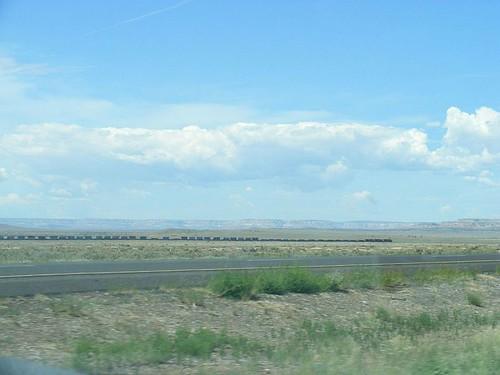 Train Across New Mexico