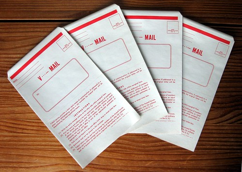 WWII V-mail stationery