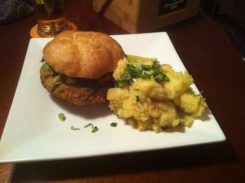 Vegan Burger by raise my voice