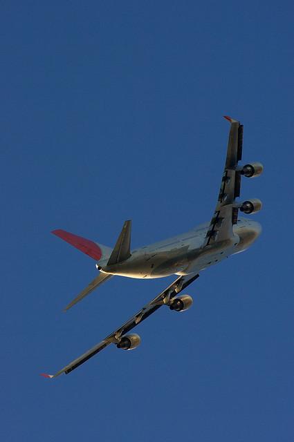JAL 747 Memories.
