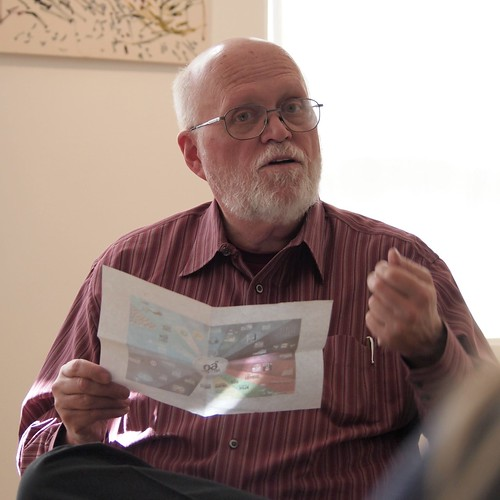 Ron Silliman in blogging workshop
