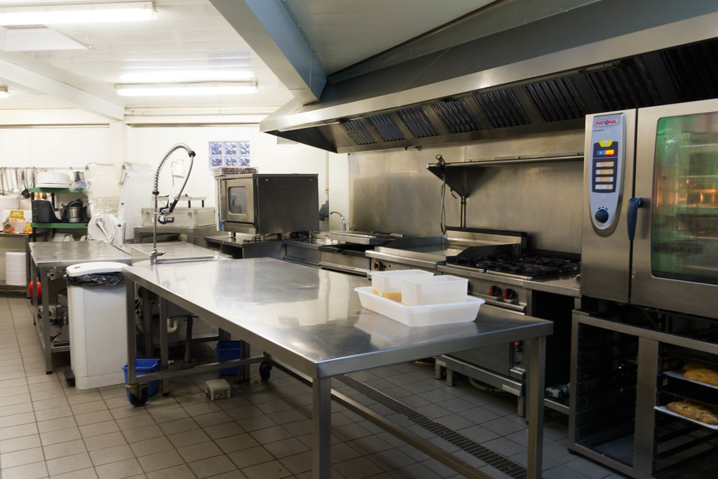 One of the Kitchen Stations