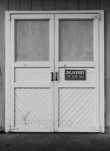 Back Door BW