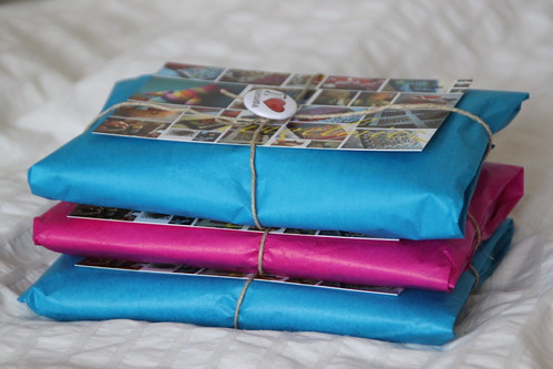 three tobacco pouches on their way to austria.