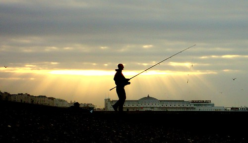 Brighton Fisherman at dawn