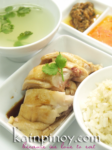 HAINANESE CHICKEN RICE 2