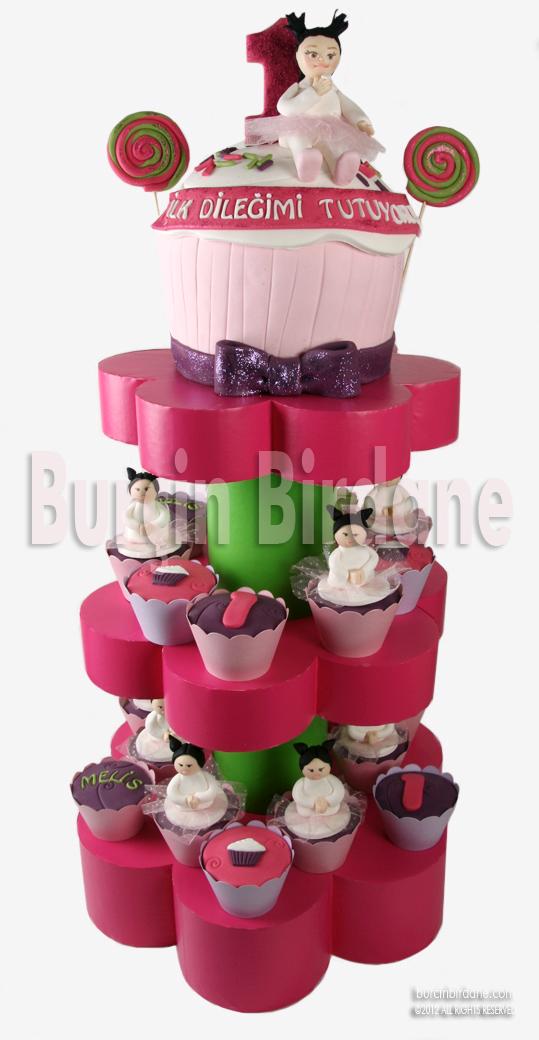 1 Yas Cupcake Stand