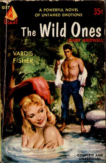 5 Vintage VARDIS FISHER 'TESTAMENT OF MAN' Series Paperbacks, 1960s.