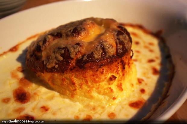 Twice-baked Gruyere Souffle, ROAST @ 1 Rochester